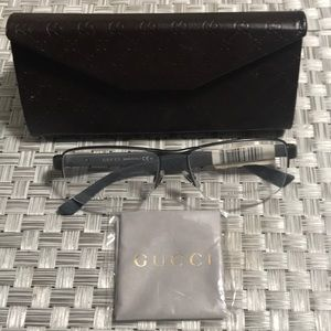 New Authentic Gucci man Frame Stainless Steel